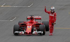 Sebastian Vettel bids farewell to 'Gina' with a heavy heart