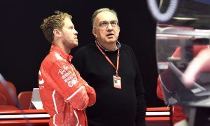 Marchionne expects a less emotive Vettel in 2018