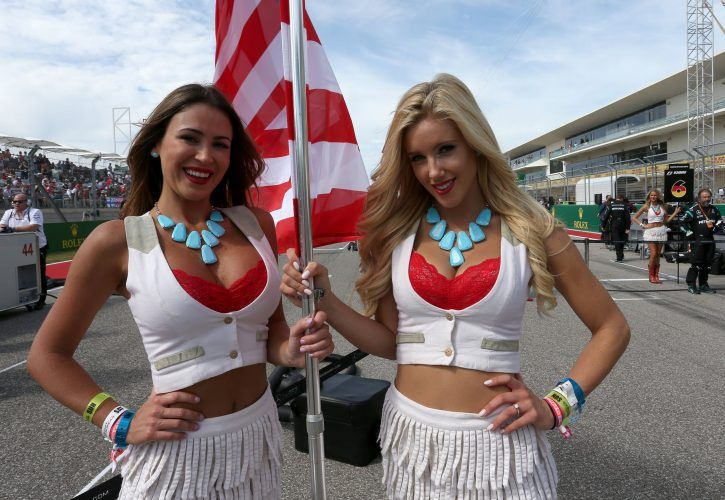 F1 'grid girls' under review