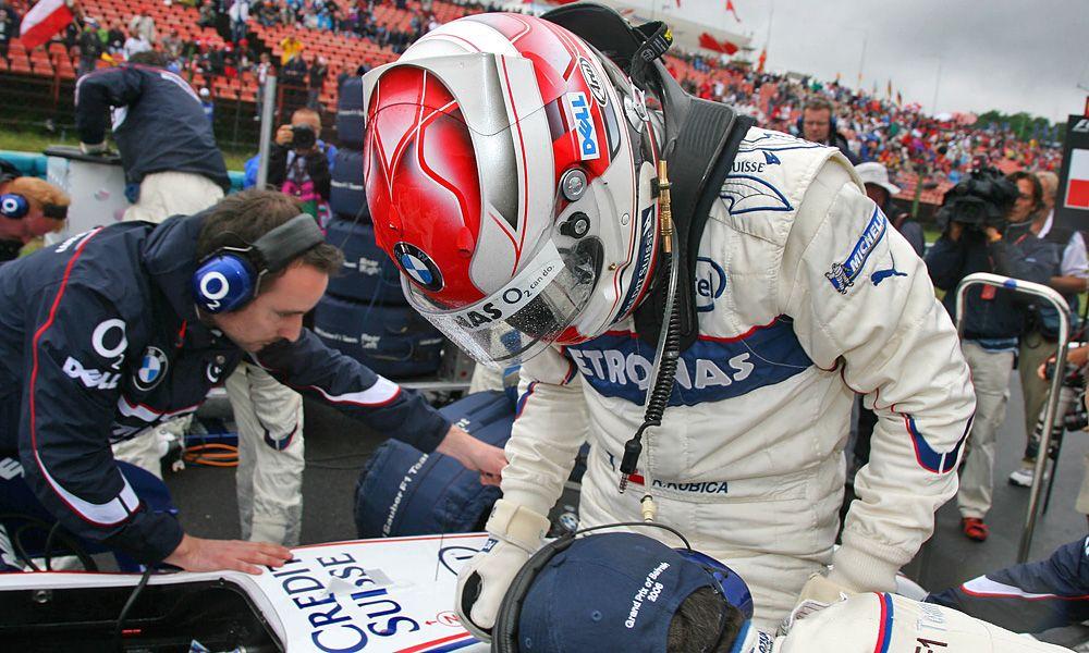 Robert Kubica, BWM Sauber, 2006 Hungarian Grand Prix
