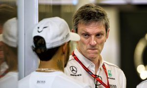James Allison (Mercedes) with Lewis Hamilton, Australian Grand Prix