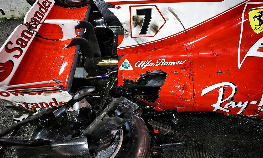Kimi Raikkonen, Ferrari, Singapore Grand Prix