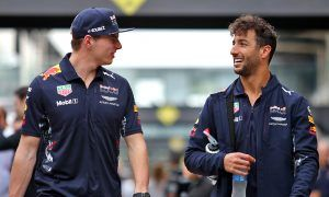 Video: Verstappen and Ricciardo celebrate the holidays