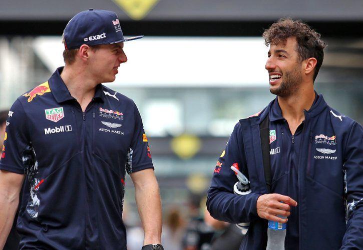 Max Verstappen, Daniel Ricciardo (Red Bull Racing), Brazilian Grand Prix