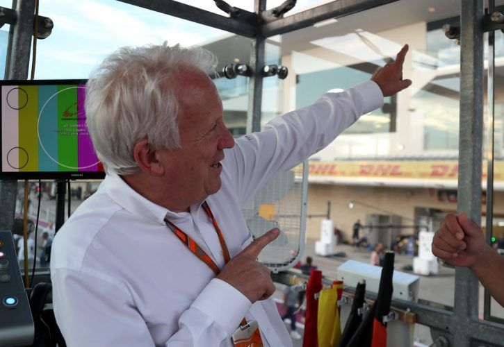 Charlie Whiting Gallery: Less Overtaking? Whiting Points The Finger At Mid-field Teams
