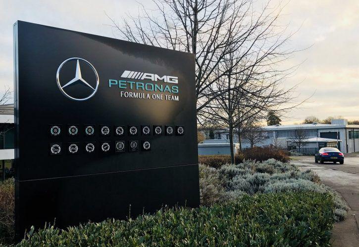 Mercedes team set to expand its Brackley F1 base