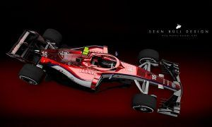 A striking livery for Alfa Romeo Sauber!
