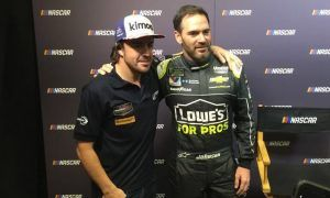 Alonso declares himself open to NASCAR test!