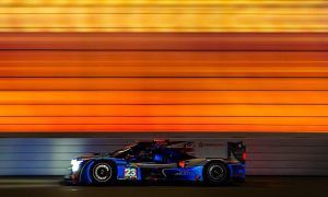 Racing at Daytona at the speed of color