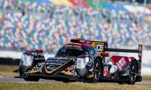 Stroll hails 'strong package' with Jackie Chan at Daytona