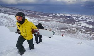 Hamilton charges up on the slopes in Japan