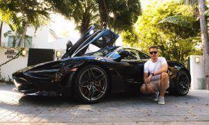 Stoffel Vandoorne enjoys McLaren's perks