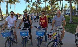Gallery: How did the drivers spend their holiday?