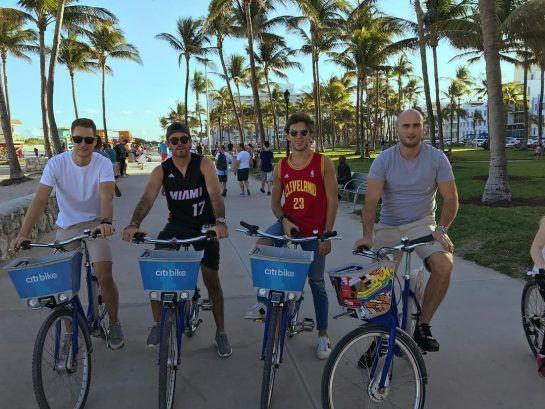 Stoffel Vandoorne and Pierre Gasly in Miami