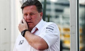 Brown sees 'a leap to the front' for McLaren in Australia