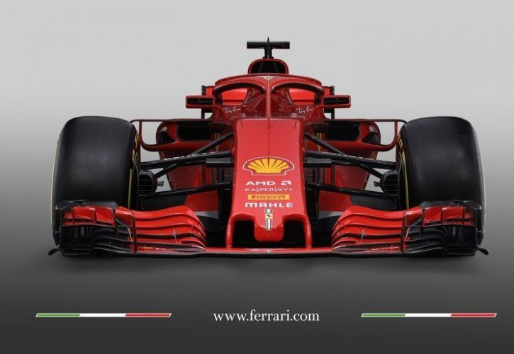 scuderia ferrari introduces its new sf71h. Black Bedroom Furniture Sets. Home Design Ideas