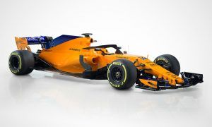 And here is McLaren's new 'papaya orange' MCL33!