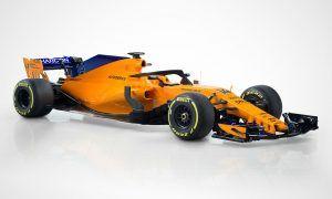 And here is McLaren's new 'papaya orange' MCL33!