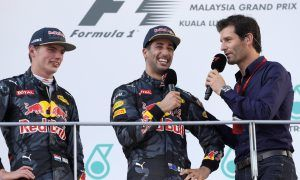 Webber to Ricciardo: 'Focus on Max, not your future'