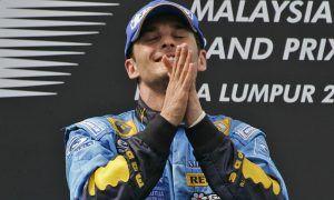 Italian driver Giancarlo Fisichella, Renault - 2006 Malaysian Grand Prix