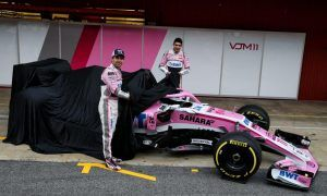 Still pretty in pink - Force India unveils its VJM11