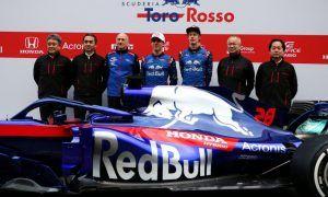 Last in line, Toro Rosso unveils STR13