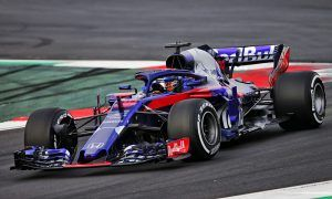 Brendon Hartley (NZL) Scuderia Toro Rosso STR13