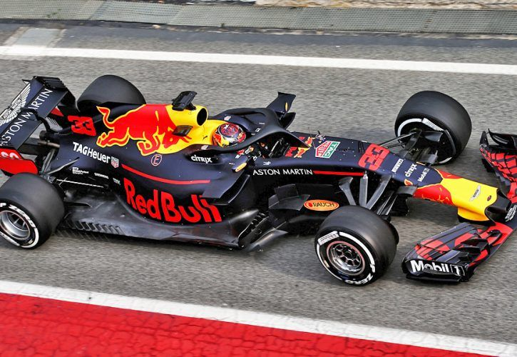 Max Verstappen (NLD) Red Bull Racing RB13