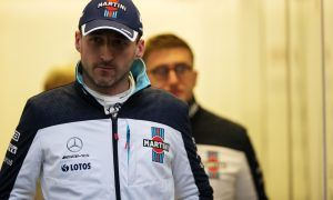Kubica's ability to 'push' challenged by cold conditions
