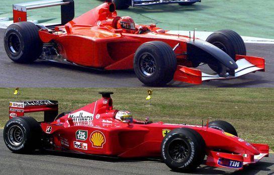 Ferrari 2001
