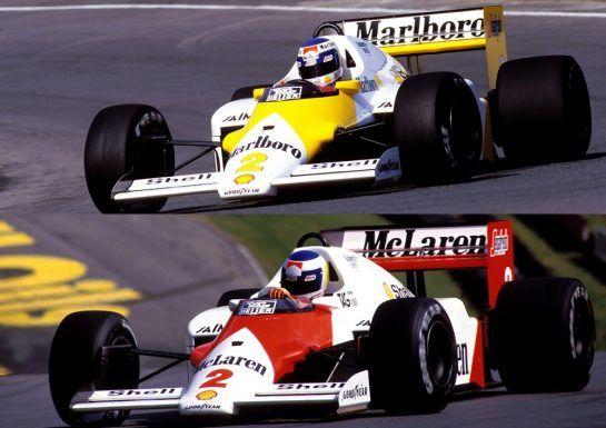 McLaren 1986