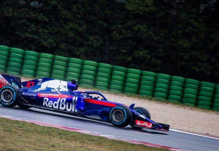 Pierre Gasly of France and Scuderia Toro Rosso