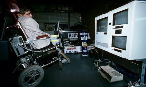 Stephen Hawking: a loyal Williams supporter