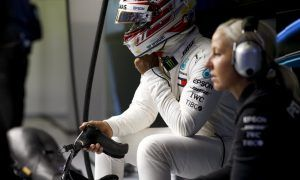 Hamilton rallies the Mercedes troops with personal message