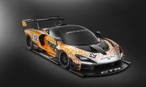 McLaren's exclusive track-only Senna missile