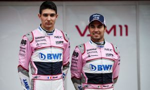 Ocon and Perez friendly but still not friends
