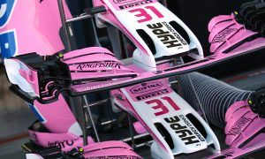 Force India puts name change plans on hold for 2018