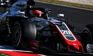 Magnussen is keeping Haas' excitement in check
