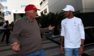 Mercedes ahead says Lauda - don't believe the hype says Hamilton