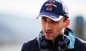 Robert Kubica (POL) Williams Reserve and Development Driver