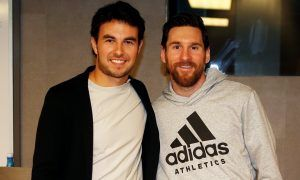 Perez pays Messi and Nou Camp a visit