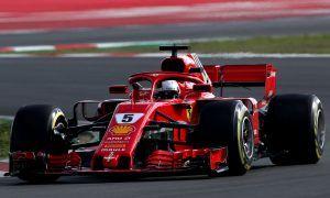 Vettel stays on top on Day 5 as McLaren and Red Bull stutter