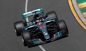 Hamilton leads the way in Melbourne's opening practice session
