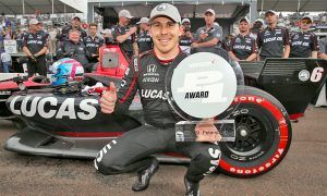Wicked lap puts Wickens on top in IndyCar!