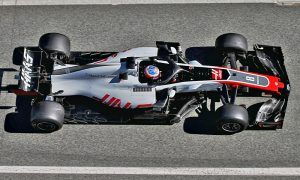 Romain Grosjean (FRA) Haas F1 Team VF-18.