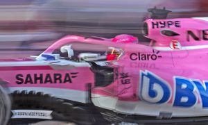 Esteban Ocon (FRA) Force India F1