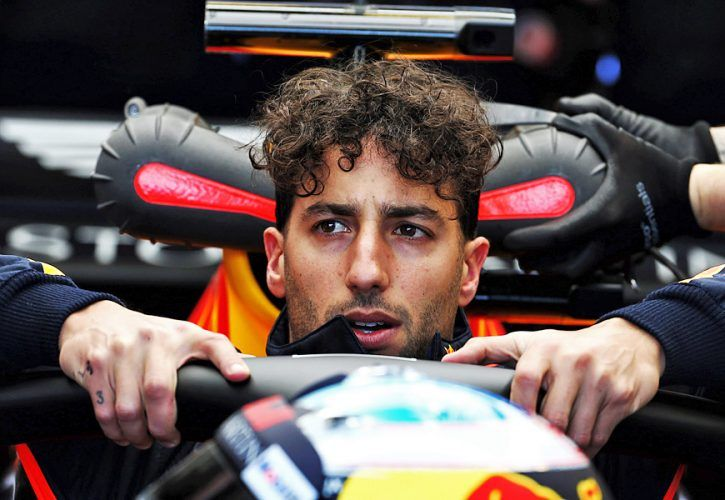 Red Bull's Daniel Ricciardo misses out on home podium again