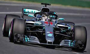 Hamilton continues to set the pace in second practice