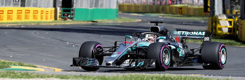 Hamilton continues to set the pace in Melbourne second practice