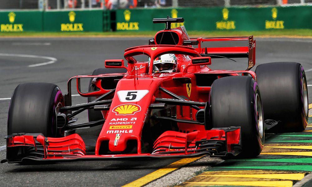 Sebastian Vettel (GER) Ferrari SF71H.